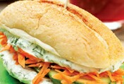 Havuçlu Sandviç