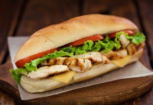 Izgara Tavuklu Sandviç