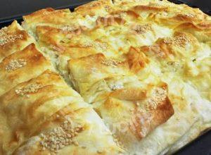 Peynirli Yufka Böreği